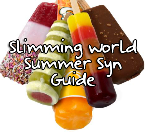 Summer Syns Slimming World Guide
