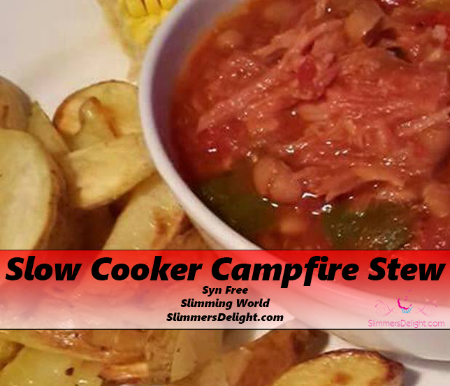 Slow Cooker Campfire Stew – Slimming World